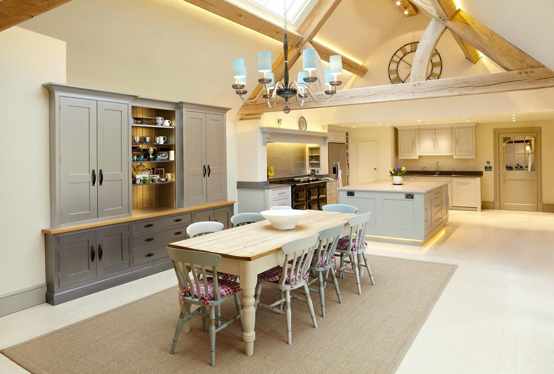 Shaker Style Kitchen | Abberley Lodge