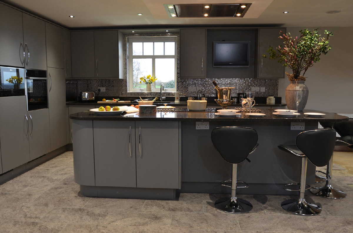 Contemporary Bespoke and Handmade Kitchen from Willow Bank